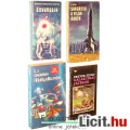 Eladó xx Használt könyv - 4db Scifi: Preyer Hugo Galaktikai Játékok, Ötvenedik: Kozmosz Fantasztikus Könyv