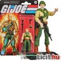 Eladó 10cm-es GI Joe / G.I. Joe Retro Collection figura - Duke katona figura gépfegyverrel, pisztollyal és