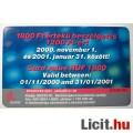 Telefonkártya 2000/10 + 50 % (2képpel :)
