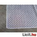 Fehér készre varrt pamut függöny 175x600 cm