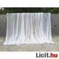 Eladó Fehér készre varrt pamut függöny 175x600 cm
