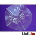 WALTHER GLAS domború mintás üveg kínáló tál
