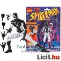 Eladó 16cm-es Marvel Legends figura Animated Spider-Man - Negative Zone fekete-fehér Pókember figura extra