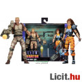 18-23cm-es Alien figura - NECA Dutch and Lin Colonial Marine katona figura - Aliens Series 13 Kenner