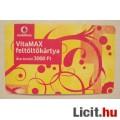 Vodafone VitaMAX Feltöltőkártya 3000 (2képpel :) Gyűjteménybe