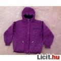 Eladó *FUNNY kapucnis téli lila dzseki 146-os