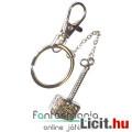 Eladó x Fém Kulcstartó - Thor Kalapács fém kulcstartó kisebb méretű, lánccal - Marvel Bosszúállók / Avenge