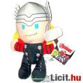 Eladó Marvel Bosszúállók 16-19cm plüss - Thorocska / Thor plüss játék figura - Új Avengers cuki nagyfejű k
