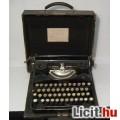 Eladó Naumann Erika (Modell S) Antik Írógép (kb.1930) 10képpel :)