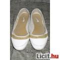 Eladó Eredeti Nike valódi bőr Roubaix arany - fehér balerina cipő bth:23,5