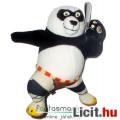 Eladó Kung Fu panda / Kungfupanda plüss játék figura - 18cmes Po maci Harcra Kész pózban - DreamWorks