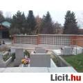 urna tartó rekesz temető kerítés -be