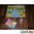 Eladó Disney hercegnők puzzle + fotóalbum + Barbie rubik