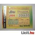 Eladó BKV 30 Napos T.-NY. Bérlet 2004 Február (Gyűjteménybe) (2képpel) v2