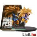 Eladó 12-14cm Dragon Ball Z / Dragonball GT figura - Son Goku gyerek Songoku Super Saiyan 3 hosszú hajjal