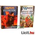 Eladó xx Használt könyv - 2db fantasy - Testvérháború, Suttogó Erdő - MAGIC the Gathering régi regény