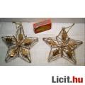 Karácsonyi Dísz (Ver.5) 2db Acéldrót Csillag 12cm