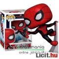 Eladó 10cmes Funko POP figura Pókember figura új Upgraded Suit falon mászó Marvel Spider-Man Far From Home