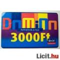 Westel Domino Mobiljegy Feltöltőkártya 3000 Ft-os