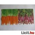 szalvéta - zöldségek