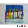 szalvéta - pingvinek
