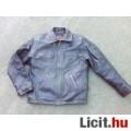Eladó Glenn Miller's Barnás-fekete koptatott bőr pilóta dzseki S