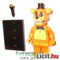 Eladó Five Nights at Freddy's FNAF figura - 4-5cmes Golden Freddy maci LEGO típ minifigura mikrofonnal és