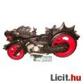 Tini Ninja Retro figura - Fekete Sárkány Ninja motor 12cm-es Tekn?s figurákhoz a 2000-es évekb?l - T