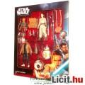 4db Star Wars figura - Rey, Finn, BB-8 és Maz Kanata - A Fénykard Megszerzése Takodana Encounter dís