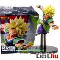 Eladó 16-18cm-es Dragon Ball Z figura - Broly Super Saiyan figura sárga hajjal, repülő-ugró pózban - Banpr