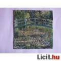 szalvéta - Monet: Japán híd