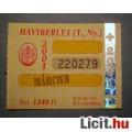 Eladó BKV Havibérlet (T.,Ny.) 2001 Március (Gyűjteménybe) (2képpel :)