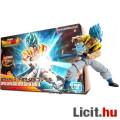 Eladó 16cm-es Dragon Ball Z figura - SSJ God Gogeta kék hajú figura építő modell szett - új DB Super Broly