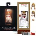 Eladó 10cm-es Ultimate NECA Annabelle horror baba figura kalitkával, székkel és cserélhető fejekkel - Conj