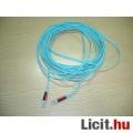 Optikai kábel 10m-es, mindkét végén 2db LC csatlakozó
