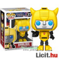 Eladó 10cmes Funko POP 23 Transformers G1 Bumblebee / Űrdongó - nagyfejű Autobot robot karikatúra figura f