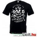 Eladó Five Nights at Freddys - új FNAF fekete póló Welcome to Five Nights at Freddy's póló - gyerek S, M,