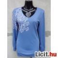 Eladó # Laura Kék hosszú ujjú póló XL/XXL-es