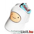Eladó Adventure Time - Finn mintás fehér baseball sapka állítható pánttal, Junior méret - Kalandra Fel
