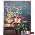 Eladó Gyümölcs csendélet, barackokkal, szőlővel, és amorettel, Realista olaj