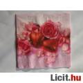 szalvéta - rózsa és bonbon