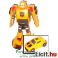 Eladó 8cm-es Transformers Bumblebee / Űrdongó figura - átalakítható autó robot figura - Autobot Classic Le