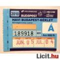 Eladó BKV Havibérlet 2010 Június (BKV Bérlet Gyűjteménybe) 2db állapot képpe