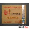 Eladó BKV Havibérlet (T.,Ny.) 2001 Február (Gyűjteménybe) 2képpel