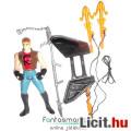 Eladó Batman figura Retro 90s Kenner 12cmes Street Biker Robin figura motoros megjelenés 100% fegyverz