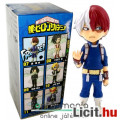 Eladó 7 cm-es My Hero Academia figura - Todoroki Shoto minifigura - Boku no Hero Academia WCF ChiBi Bandai