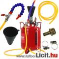Eladó Olajbetöltő pneumatikus-levegős mobil 10 literes