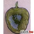 Eladó Szőlőfürt alakú zöld üveg tál