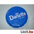 Danone felfújható frizbi átmérője 21 cm.