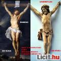 """Eladó 56. Antik, """"Rubens (?)"""" 400 é. ELEFÁNTCSONT Krisztus (17cm), kereszt,"""